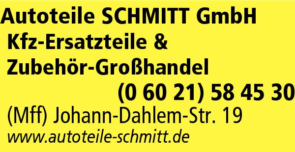Autoteile SCHMITT GmbH   Mainaschaff   Main-Profis   Das regionale ...