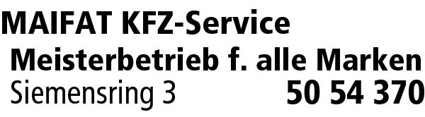 Maifat Kfz Service Artem Maifat Kleinheubach Main Profis Das